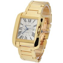 Cartier W5310015 Tank Anglaise - Mid Size - Yellow Gold on...