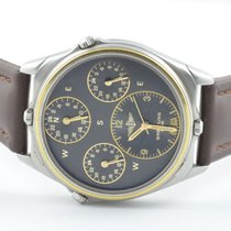Breitling World Herren Uhr 4 Zeitzonen 42mm 80840 Stahl/stahl...