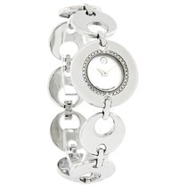 Movado Buleto Diamond Ladies Mop Dial Swiss Quartz Watch 0605919