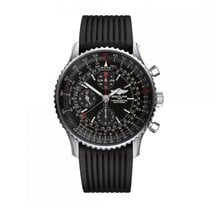 Breitling Navitimer Automatic Stainless Steel Black Dial Mens...