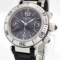 "Cartier ""Pasha SeaTimer 2995 Chronograph"" Watch - 43mm..."