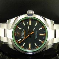 Rolex Milgauss Ref. 116400gv Vetro Verde