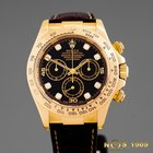 Rolex Daytona 18K Gold Diamonds 116518 BOX