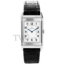 Jaeger-LeCoultre Grande Reverso Ultra Thin White Steel/Leather...