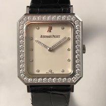 Audemars Piguet XL 39mm RARE WHITE GOLD and Diamonds Manual...
