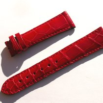 Zenith Croco Band Armband Rot Red 20 Mm Für Dornschliesse...