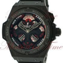 Hublot Big Bang King Power Unico GMT, Black Dial with Red...