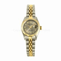 Rolex Datejust Ladies 26MM Two Tone Silver Roman Dial Jubilee...
