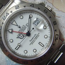 Rolex 1987 Very Rare TIFFANY & CO Transitional Explorer II...