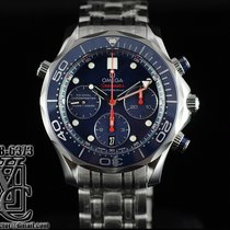Omega Seamaster Diver Chronograph Blue Dial 42mm