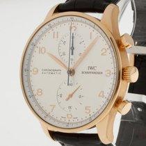 IWC Portugieser Chronograph 18 Kt. Roségold/Lederband Ref....