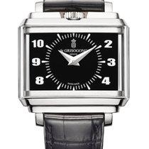 De Grisogono New Retro 18K White Gold Men's Watch