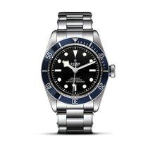 Tudor HERITAGE BLACK BAY Full Steel-Blue Bezel-Black Dial 41mm