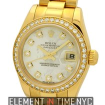 Rolex Datejust President 26mm Diamond Bezel Diamond MOP Dial