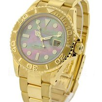 Rolex Used 16628_used_blk_MOP Yachtmaster Large Size Yellow...