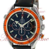 Omega Seamaster Planet Ocean 600m Co-Axial Chronograph, Black...