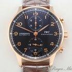 IWC Portugieser Rotgold 750 Chronograph IW 3714 Automatik