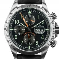 Fortis Classic Cosmonauts Stahl Automatik Chronograph Armband...
