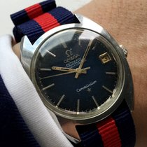 Omega Constellation Automatic with blue dial SPIDER DIAL