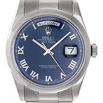 Rolex Men's Rolex President Day-Date Watch 118239 Blue Dial