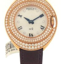 Bedat & Co No.2 Midsize Rose Gold/Diamond Ladies Watch