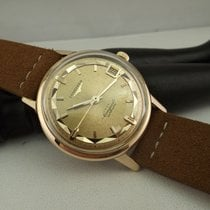 Longines Conquest deluxe oro rosa 18kt 9025 18 pie pan singer...