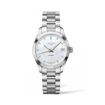 Longines Conquest Classic Mother Of Pearl Dial 34mm