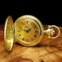 Uhlmann 18kt Gold Savonnette Taschenuhr / Orig. Blatt