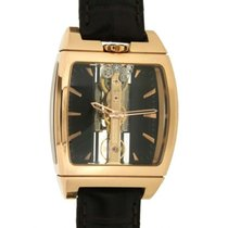Corum Golden Bridge 313.150.55/0001 Fn02 In Oro Rosa E Pelle