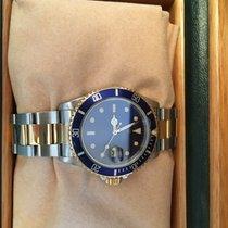 Rolex Submariner Date acciaio e oro quadrante blu
