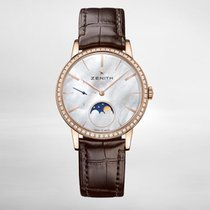Zenith ELITE LADY MOONPHASE Rose Gold-mother-of-pearl Dial 36mm