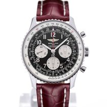 Breitling Navitimer 01 43 Arabic Numeral Dial Red Crocodile...