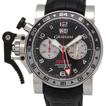 Graham Chronofighter Oversize GMT Chronograph Men's Watch –...