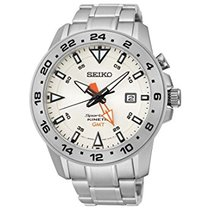 Seiko Sportura Steel Bracelet Steel Case Data GMT SUN0/25P1