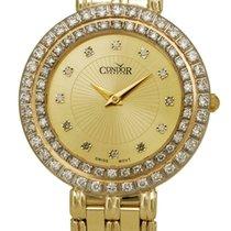 Condor 14kt Gold & Diamond Womens Luxury Swiss Watch...