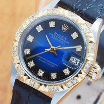 Rolex 18K Gold Diamonds DateJust Automatic Women's Watch