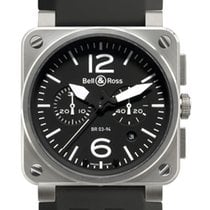 Bell & Ross BR03-94 Chronograph 42mm BR03-94 Steel