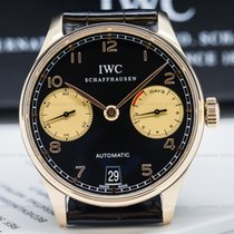 IWC IW500113 IW500113 Portuguese 7 Day Automatic 18K Red Gold...