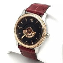 Perrelet Gold Eclipse 18k Rose Gold & Ss Mens Watch W/...