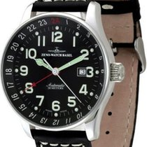 Zeno-Watch Basel X-Large Pilot GMT Dualtime
