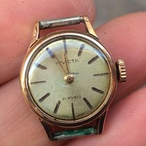 Invicta Oro Gold plated oro Lady lady 24 mm manuale manual