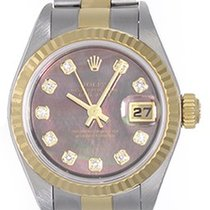 Rolex Ladies Rolex Datejust Watch 79173 Factory Mother-Of-Pear...