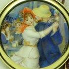Audemars Piguet Pocket Watch ,18 Kt yg, enamel Renoir picture