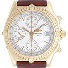 Breitling Chronomat Men's 18k Yellow Gold Chronograph...