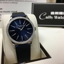 Patek Philippe Cally - 4897G-001 Ladies Calatrava Blue 33mm...