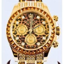 Rolex Cosmorgraph Daytona Leopard Dial 18K Gold Automatic...