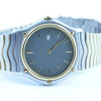 Ebel Herren Uhr Stahl/750 Gold 37mm Sport Classique Top...