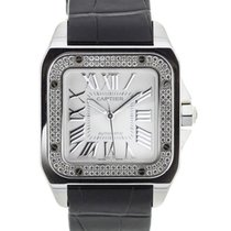 Cartier Santos 100 Diamonds
