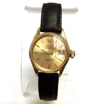 Rolex Oyster Perpetual Lady-datejust 18k Yellow Gold Ladies...