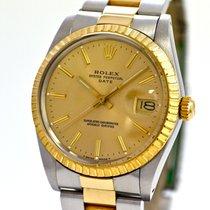Rolex Oyster Perpetual Date 18ka Gold & Steel